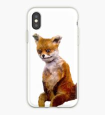 Stoned fox the Taxidermy Fox Meme iPhone Case