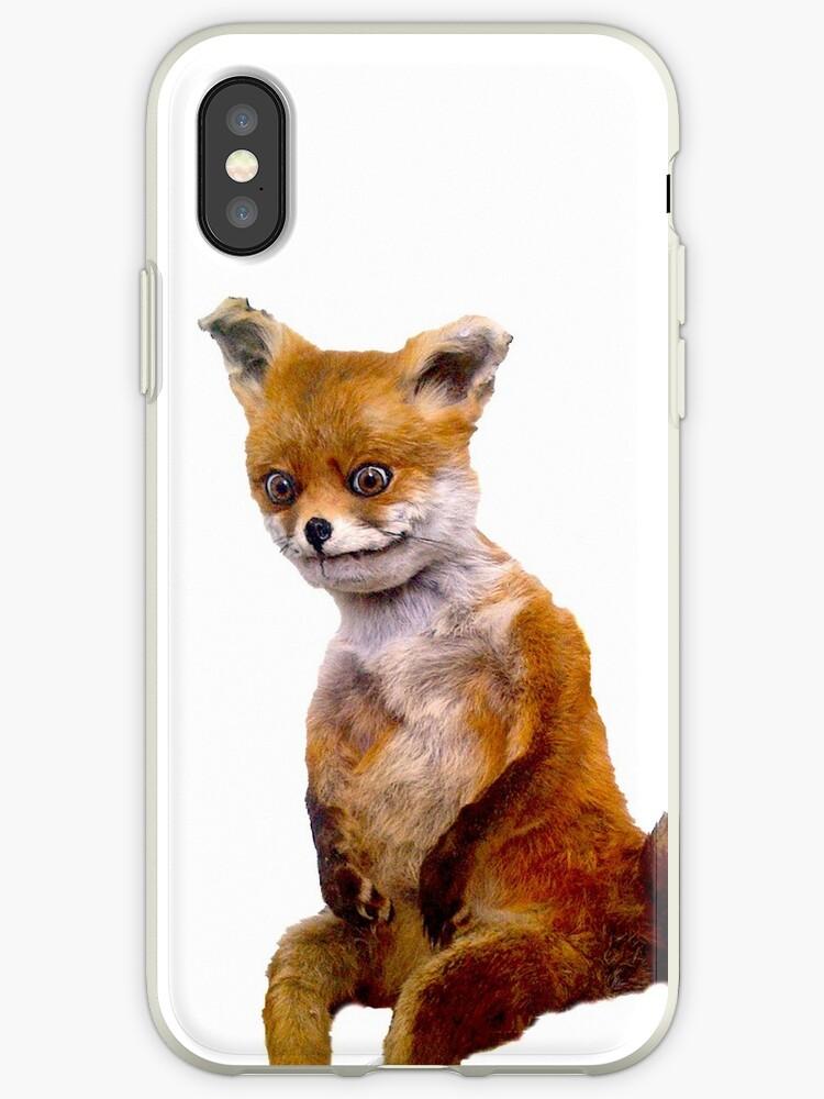 Stoned Fuchs Der Taxidermy Fox Meme Iphone Hüllen Cover Von Adele