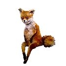 Stoned fox the Taxidermy Fox Meme by ADELE MORSE