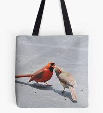 Newlywed Breakfast Tote Bag