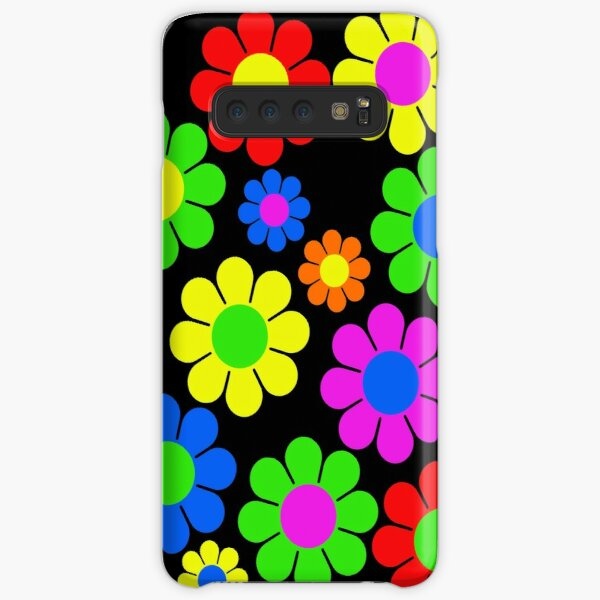 Hippy Flower Daisy Spring Pattern Samsung Galaxy Snap Case