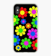 Hippy Flower Daisy Spring Pattern iPhone Case