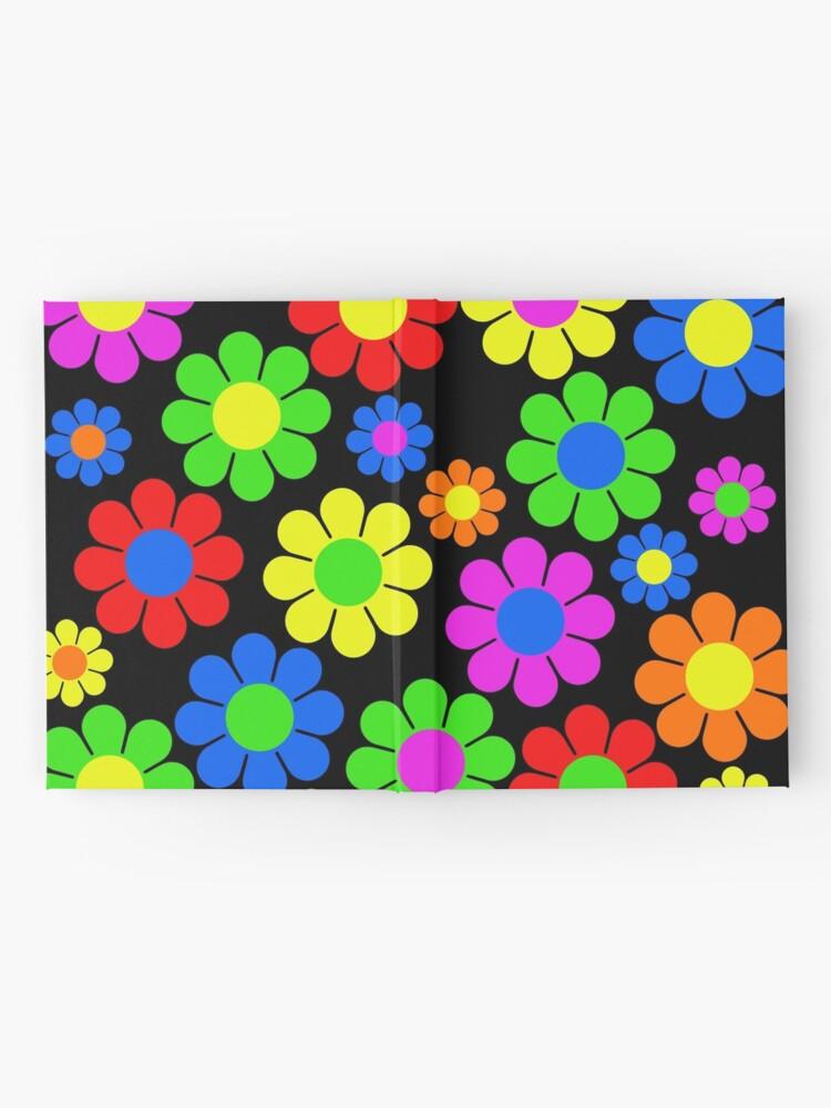 Alternate view of Hippy Flower Daisy Spring Pattern Hardcover Journal