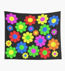 Tela decorativa Hippy Flower Daisy Spring Pattern