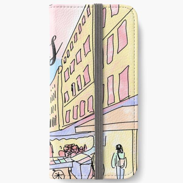 Paris I left by Alice Monber iPhone Wallet