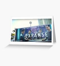 Save The Expanse Sticker Greeting Card