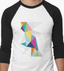 Triangle Bright Men's Baseball ¾ T-Shirt