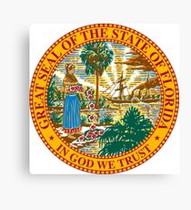 Great Seal of Florida  Canvas Print