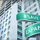 #SaveTheExpanse Street Sign by newyorktaxi