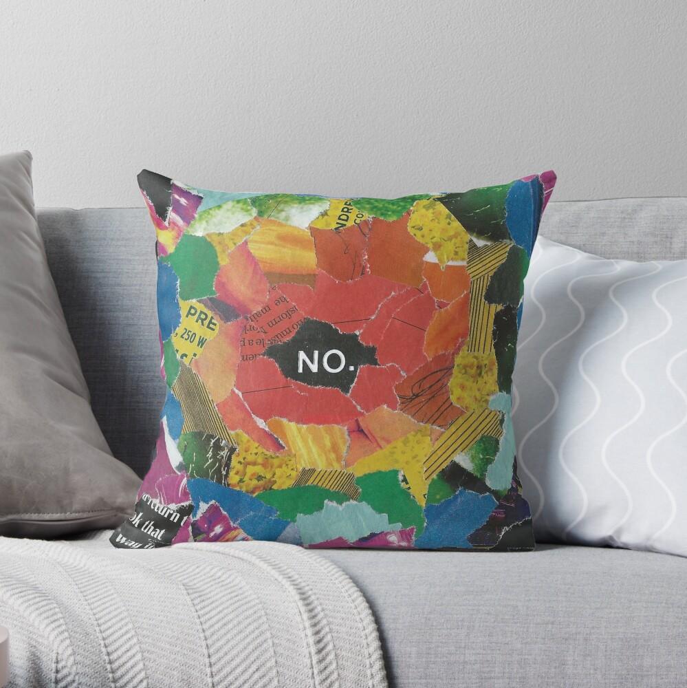 RainNo Throw Pillow