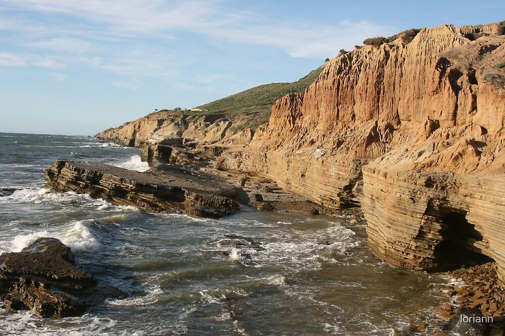 southern cali coast line by loriann