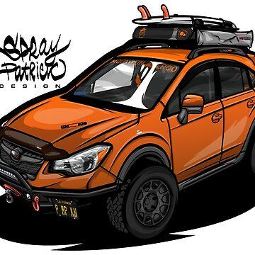 Subaru Crosstrek (XV_PMPKN) by SprayPatrick