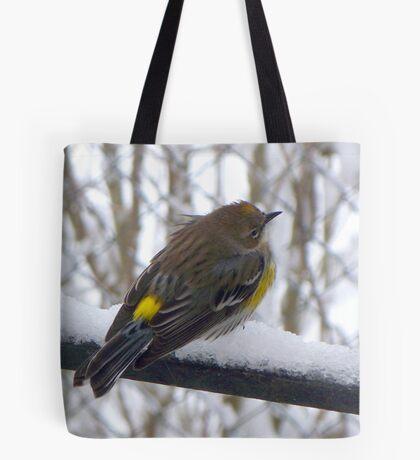Cold Yellow Rump Tote Bag