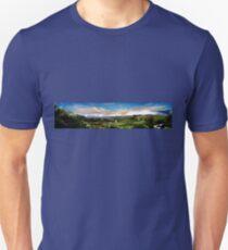 The Valley Of Longevity, Vilcabamba, Ecuador II Panorama Unisex T-Shirt