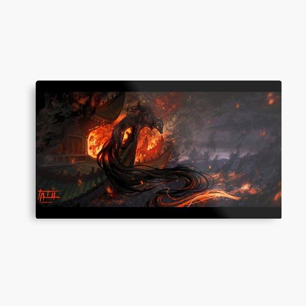 Shepherd of Fire Metal Print