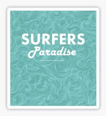 Surfers Paradise Sticker