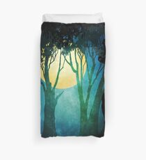 Dance By The Light Of The Full Moon Duvet Cover
