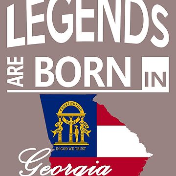 Georgia Born Legends Cool Birthday Surprise by smily-tees