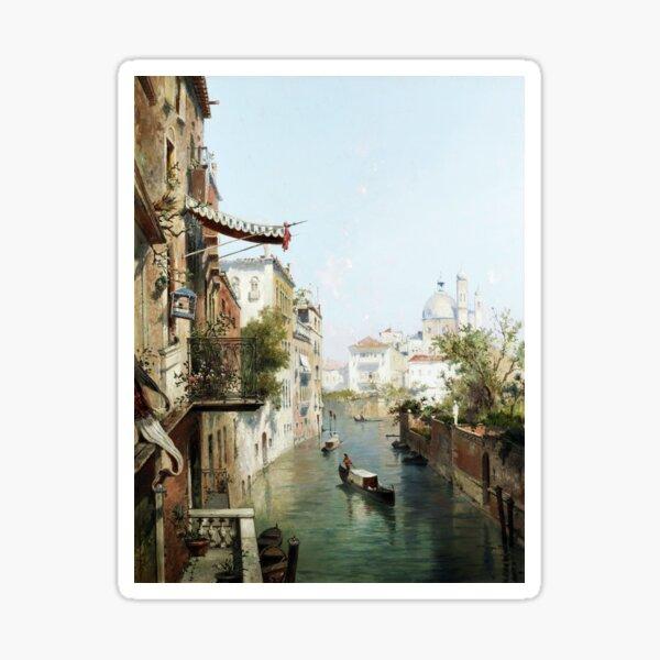 Canale San Barnaba, Venise Sticker