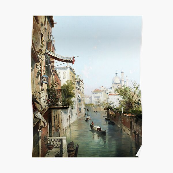 Canale San Barnaba, Venise Poster
