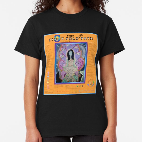 Kriya Yoga: 8-Fold Path: Theory and Practice Classic T-Shirt