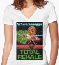 Total Rekale Women's Fitted V-Neck T-Shirt