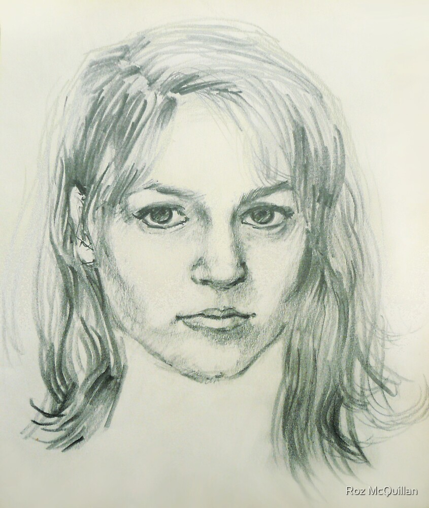 Self-Portrait at 17 by Roz McQuillan