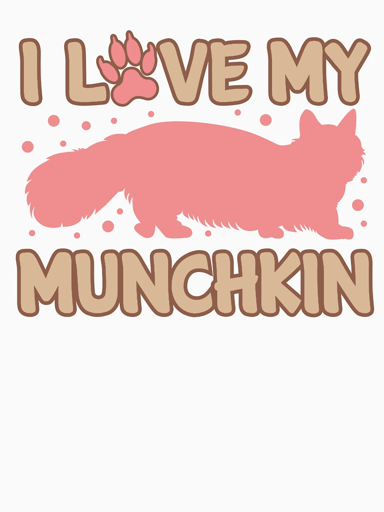 Love My Munchkin Cat  by Dogvills