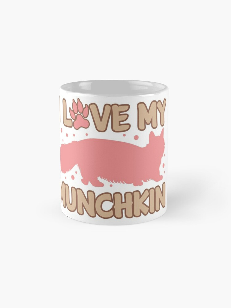 'Love My Munchkin Cat ' Mug by Dogvills