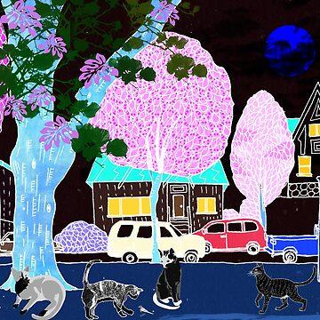 Street Cats 2 by Design4uStudio