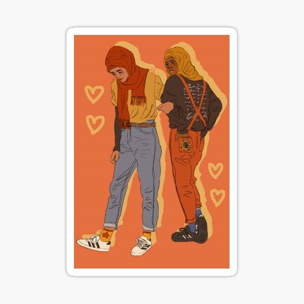 lovers Sticker