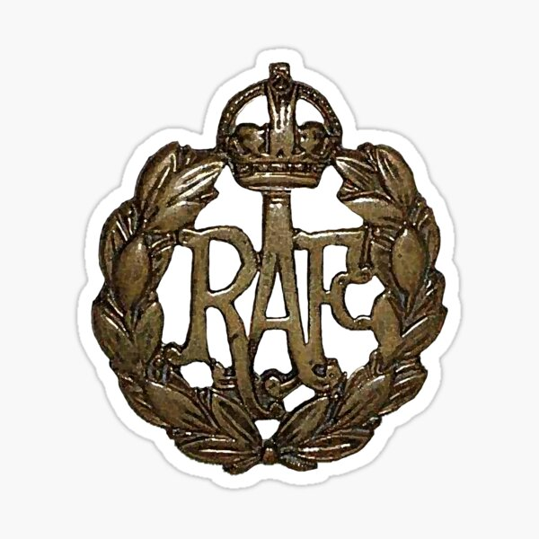 RAF Cap Badge Sticker