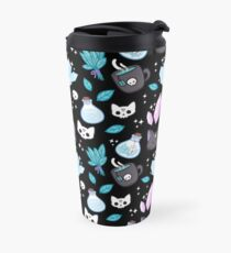 Herb Witch // Black Travel Mug