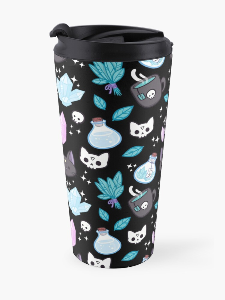 Alternate view of Herb Witch // Black Travel Mug