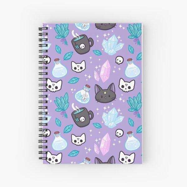 Herb Witch Spiral Notebook