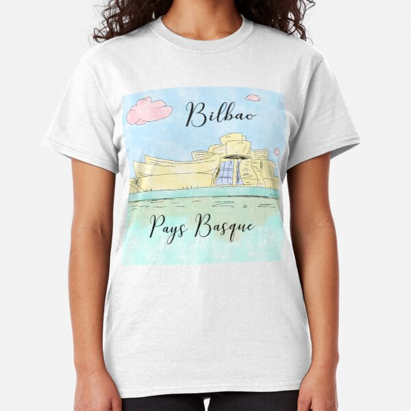 Bilbao Pays Basque by Alice Monber Classic T-Shirt