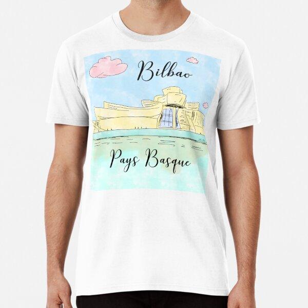 Bilbao Pays Basque by Alice Monber Premium T-Shirt