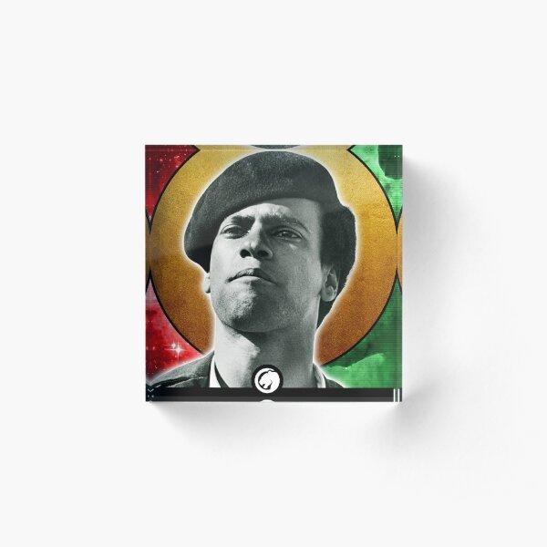 Huey P Newton Holy Icon Acrylic Block