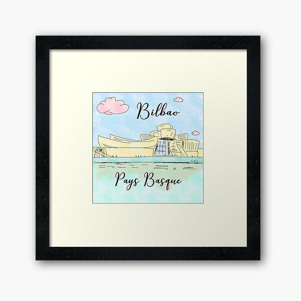 Bilbao Pays Basque by Alice Monber Framed Art Print