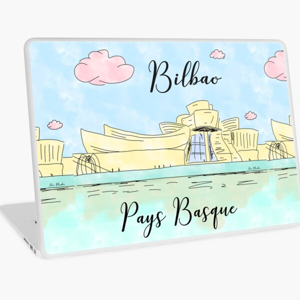 Bilbao Pays Basque by Alice Monber Laptop Skin