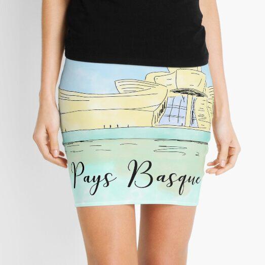 Bilbao Pays Basque by Alice Monber Mini Skirt