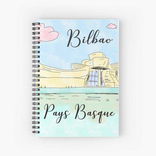 Bilbao Pays Basque by Alice Monber Spiral Notebook