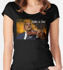 Fiddler in Chief Women's Fitted Scoop T-Shirt