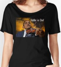 Fiddler in Chief Women's Relaxed Fit T-Shirt