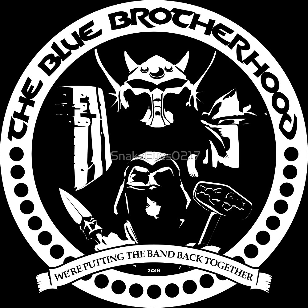 The Blue Brotherhood TD Clan 2018 (One Color) by SnakeEyes0217