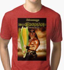 Cornan the Barbarian Tri-blend T-Shirt