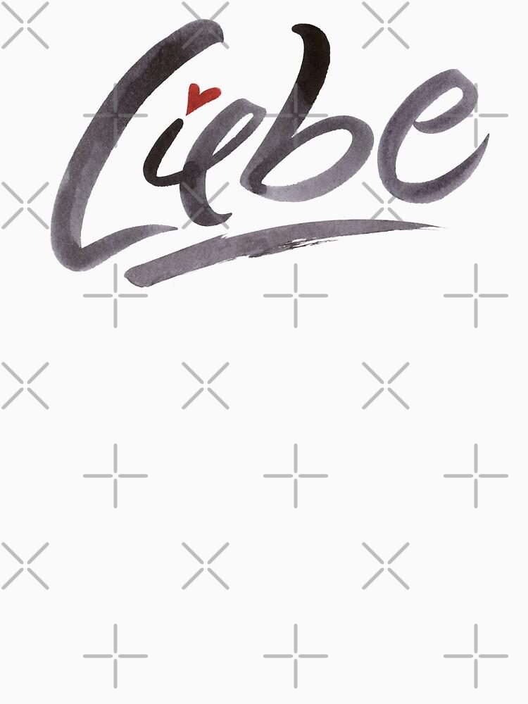 Liebe Love Hertz Heart Schönschrift Schöne Schrift Calligraphy Lettering by 26-Characters
