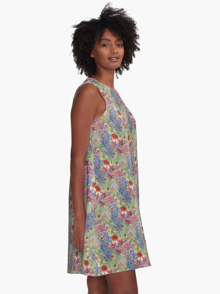 Alternate view of Jewel A-Line Dress
