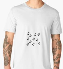 music notes Men's Premium T-Shirt
