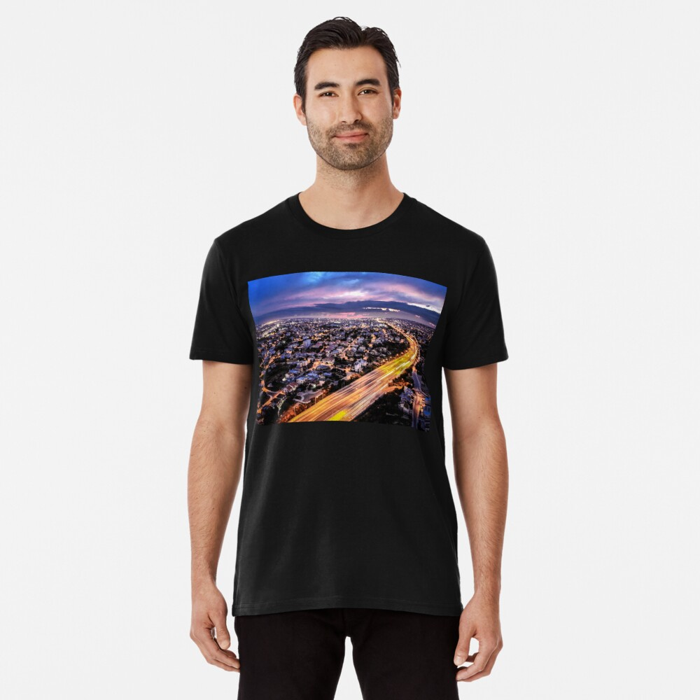 City Lights Premium T-Shirt